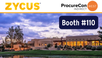 Zycus at ProcureCon Indirect West 2019