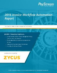 Invoice Workflow Automation (IWA) Report
