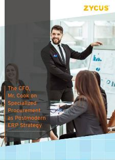 CFO-CPO Collaborate on Specialized Procurement as Postmodern ERP Strategy