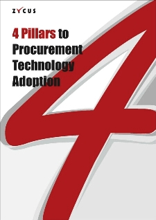 4 pillars to Procurement Technology Adoption (Europe edition)