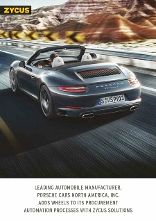 Porsche Cars NA adds wheels to its procurement processes with Zycus solutions