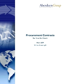 Procurement Contracts - Real Value, Real Returns