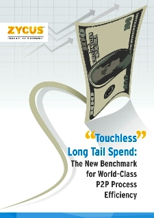 P2P Touchless Long tail spend: The New Benchmark for World Class P2P Process Efficiency