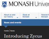 Monash University: Introduction to Zycus