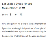 Engrave blog: Let us do a Zycus for you