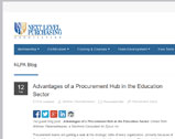 Advantages of a Procurement Hub in the Education Sector