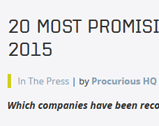 Procurious: 20 Most Promising Procurement Solution Providers in 2015