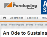 My Purchasing Center: An Ode to Sustainable Procurement